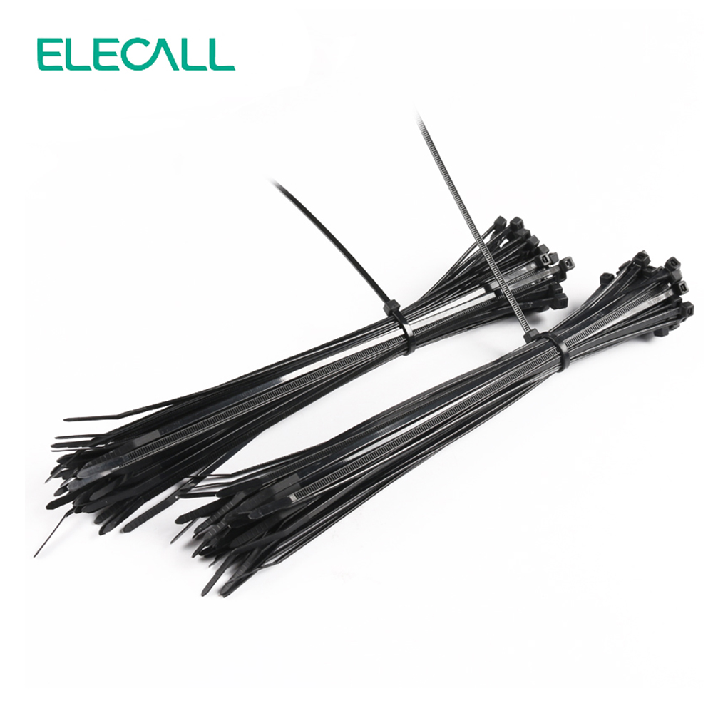 цена 4*250mm Self-Locking Nylon Cable Ties 250Pcs/Pack Cable Zip Tie Loop Ties For Wires Tidy Black