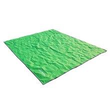 AT6220 420D Oxford Camping Mat Tent Sun Shelter Waterproof Picnic Sand beach Moisture-proof Pad Playing Mat(Grass green M)