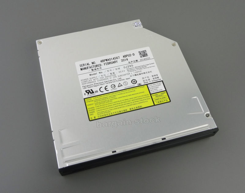 где купить  Blu-ray Burner BD-RE BDXL Writer Drive Matshita UJ265 For Dell Alienware 17 18  дешево