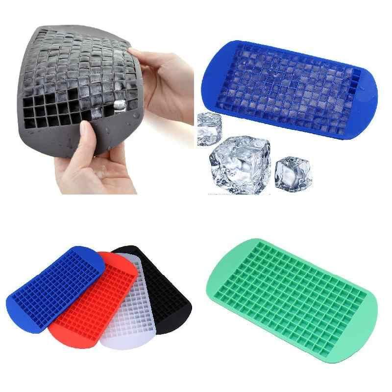 «Le meilleur» 160 moule à glace pratique Mini petit bac à glaçons Cubes congelés plateaux Silicone moule à glace outil de cuisine 889
