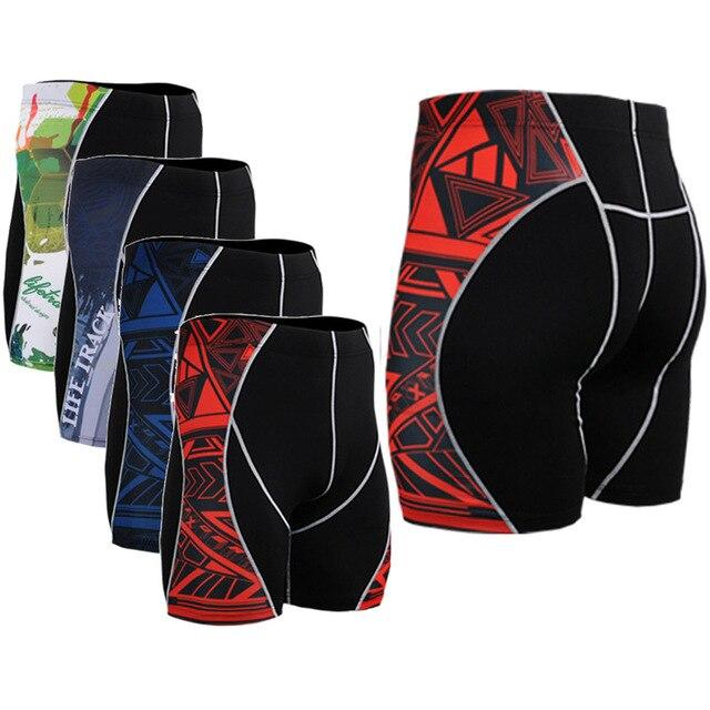Марка Оригинал Мода Шорты бодибилдинг Облегающие Шорты Сжатия Фитнес ММА Шорты