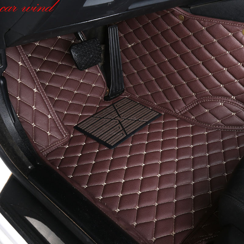 Car Wind Leather Auto car floor Foot mat For opel antara astra k zafira tourer car accessories waterproof carpet rugs floor