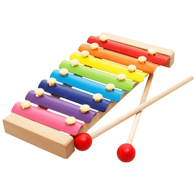 Kids Musical Toys Learning Education Wooden Xylophone For Children Musical Toy Wisdom Development Wooden Instrument Baby Toys фен viconte vc 3748