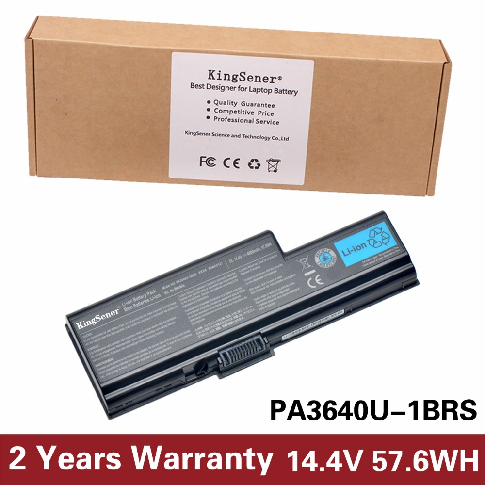 Japanese Cell KingSener New PA3640U-1BRS PA3640U Laptop Battery for Toshiba Qosmio F50 F55 F501 PABAS121 14.4V 4000mAh 8 Cells high quality 14 4v 63wh pa3928u 1brs battery for toshiba qosmio x770 3d x770 107 x770 11c pabas248