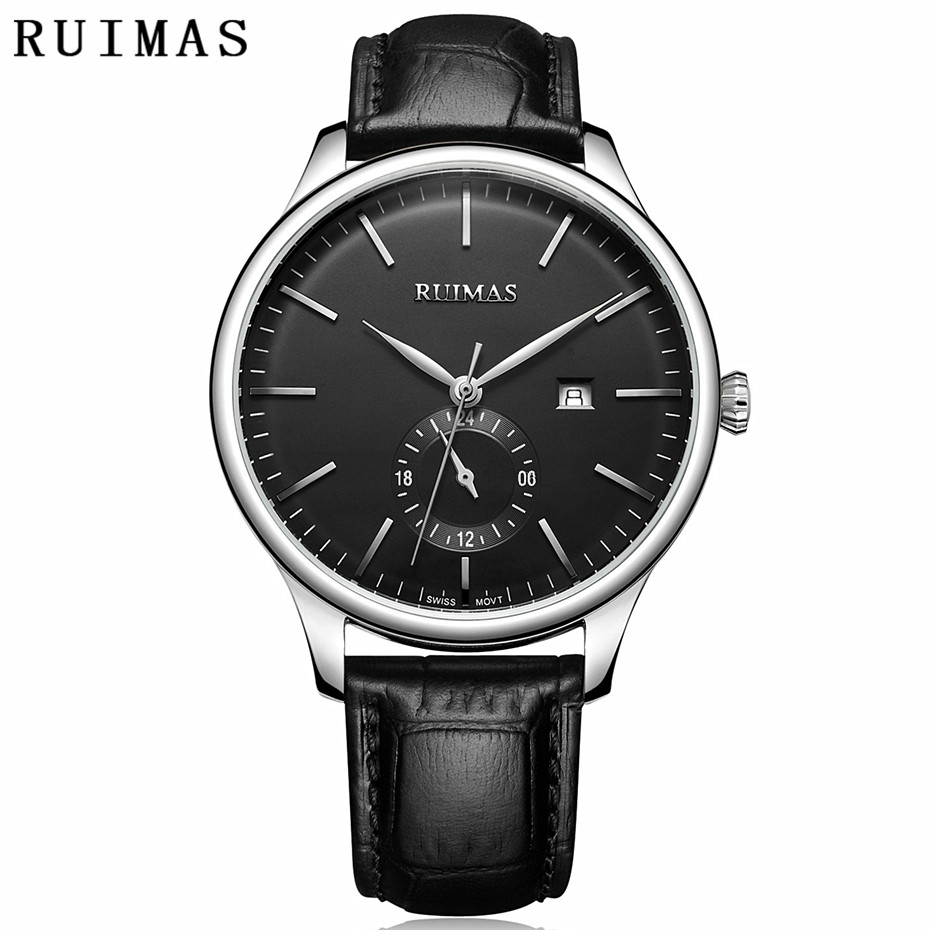 Mens Watches Top Brand Luxury Watch Men Simple Watches Classic Quartz Watch 2018 Business Leather Wrist Watches Orologio Uomo цена