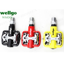 Wellgo WM001 Bicycle MTB Pedals Self-Locking Clipless Magnesium mountain bike pedal