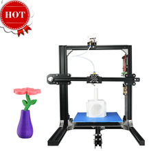 2017 Latest 3D-Printer Leading Brand Assembling DIY Desktop Education Teaching Use Double Extruders Free Extra Nozzle Printer 3D