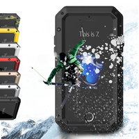 I7 Case Armor Dirt Shock Waterproof Metal Aluminum Camouflage Cell Phone Case For Iphone 7 Original