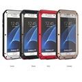 Тяжелого Водонепроницаемый Телефон Чехол для Samsung Galaxy S7 Металл Железный Человек Анти-шок Военный Бампер Защитная Крышка Телефона