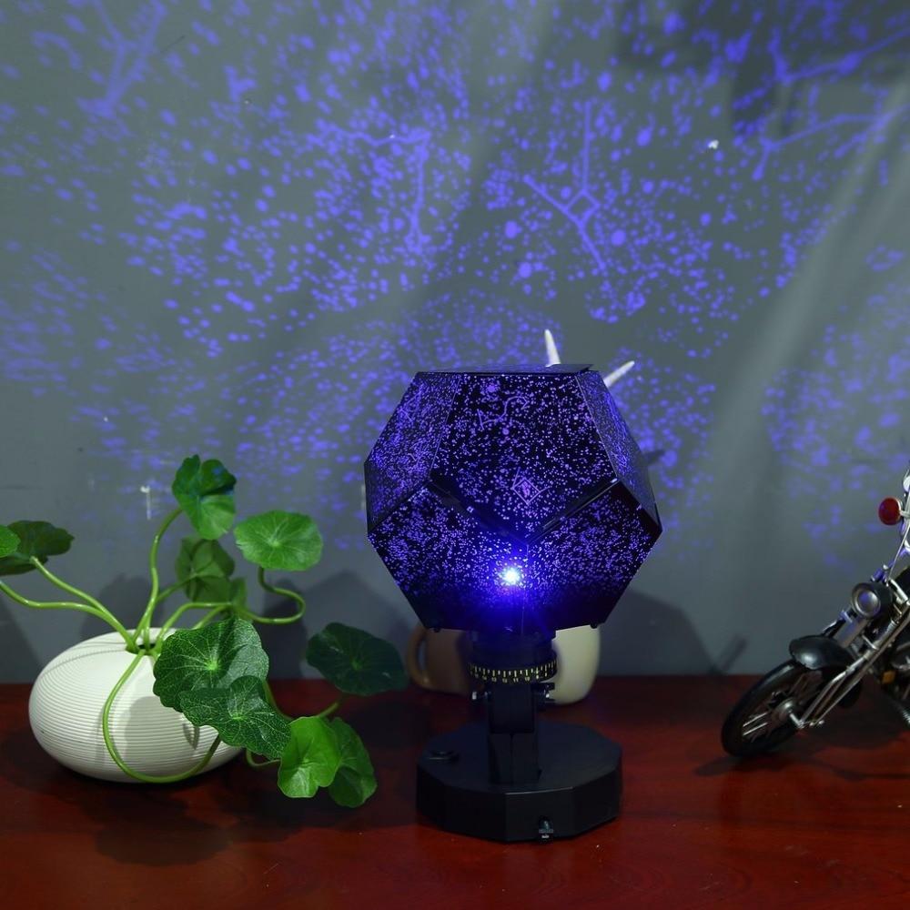 Party Astro Star Sky Projektion Cosmos Nacht Lampe Starry Nacht 12 konstellationen liebhaber Schlafzimmer Decor Beleuchtung Gadgets