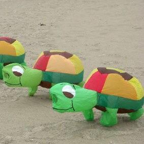 Nouveauté 3D haute qualité 1.2M tortue cerfs-volants doux paysage coccinelle cerf-volant/cerf-volant FESTIVAL