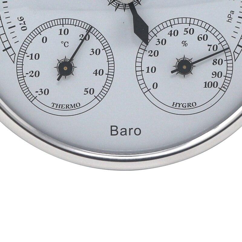 Бытовая Метеостанция Барометр термометр гигрометр 3 в 1 измеритель температуры и влажности манометр настенный