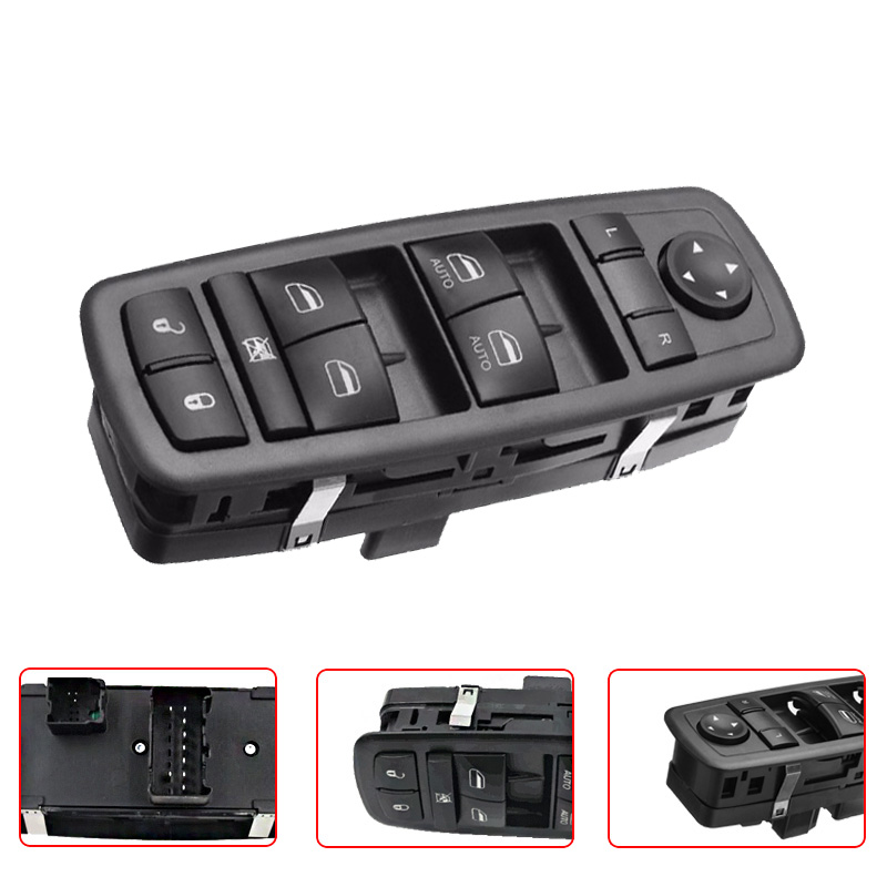 Quad Cab Power Master Window Switch For 2009 2012 Dodge: High Quality 4602863AD Power Window Master Switch Driver