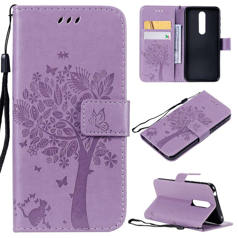 Flip Leather Case For <font><b>Nokia</b></font> 3.1 1 plus <font><b>3.2</b></font> X3 4.2 7.1 plus X7 8.1 plus X71 <font><b>2019</b></font> PU Leather Card Holder Stand Cover Phone Case image