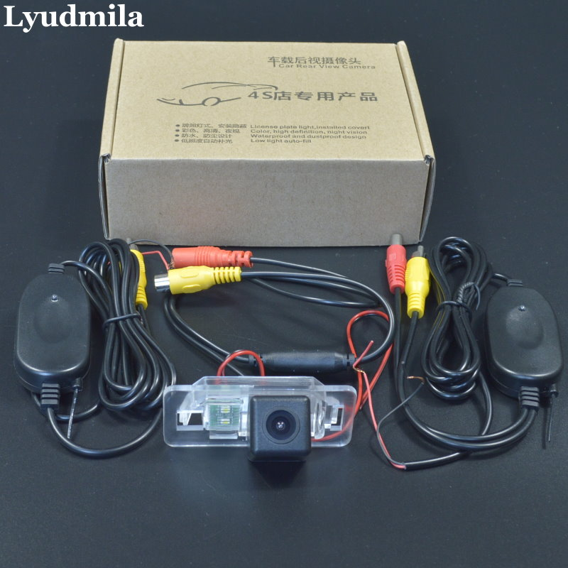 Lyudmila Wireless Camera For BMW X1 E84 / X3 E83 / Car Rear view Camera / Back up Reverse Parking Camera / HD CCD Night Vision