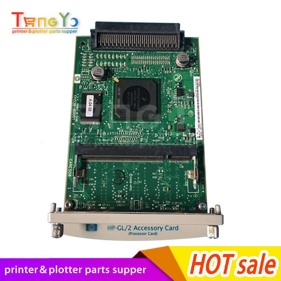 Used Original GL/2 Card Formatter Card FOR HP DesignJet HP510 510 CH336-80001 CH336-67001 CH336-60001 Design Plotter Parts