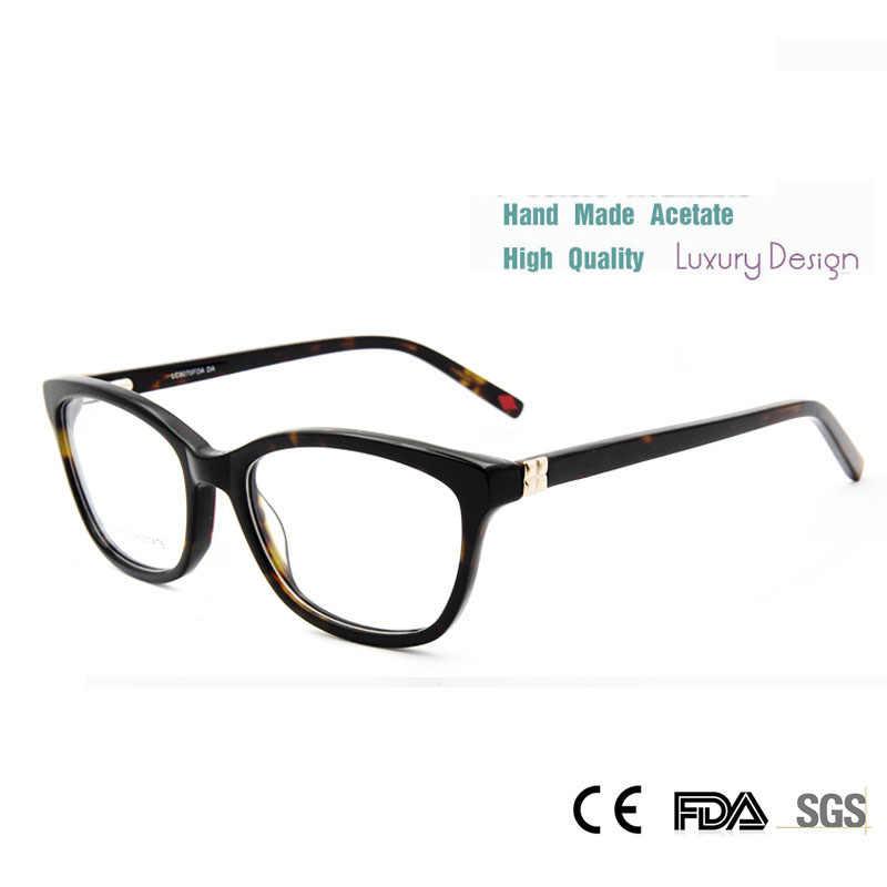 111e5039ddfd SORBERN Luxury Designer Frame Eyeglasses Women Butterfly Eyeglass Frames  Women'S Prescription Glasses Frame Female Eyewear
