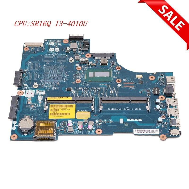 Nokotion VBW01 LA-9982P For dell Inspiron 15R 5537 3537 CN-0CX6H1 0CX6H1 laptop motherboard SR16Q I3-4010U CPU DDR3LNokotion VBW01 LA-9982P For dell Inspiron 15R 5537 3537 CN-0CX6H1 0CX6H1 laptop motherboard SR16Q I3-4010U CPU DDR3L