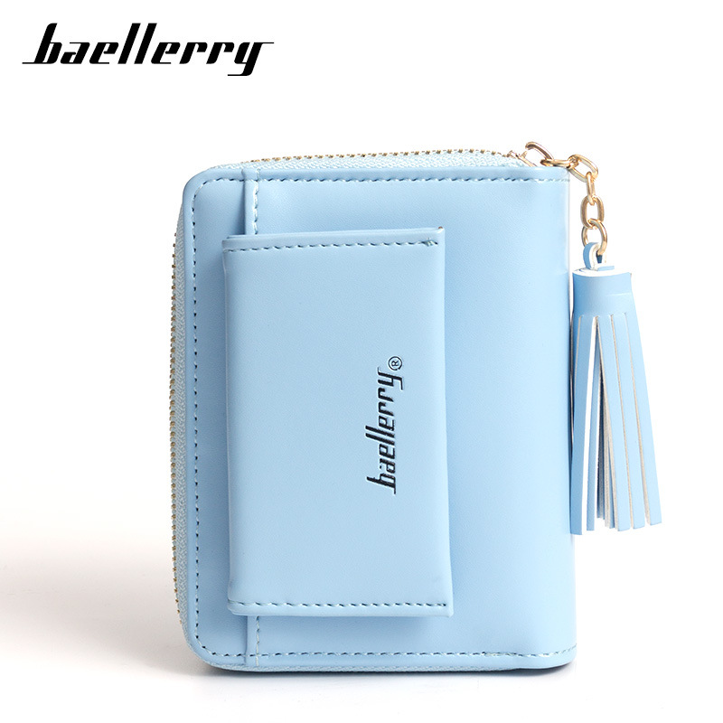 Baellerry New Cute Vertical PU Leather Wallet for Women