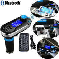 Hot Voiture FM Transmitter Wireless Bluetooth Music Hands Free Calling Wireless MP3 Player Car Kit USB