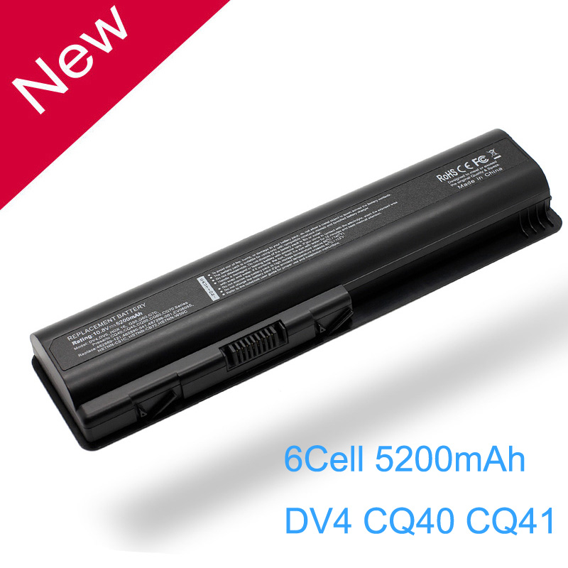 Laptop Battery for HP Pavilion DV4 DV5 DV6 DV6T G50 G61 Compaq Presario CQ40 CQ41 CQ45 CQ50 CQ60 CQ61 CQ70 CQ71 HDX16 G50 RUB for hp cq40 cq41 cq45 dv4 for amd discrete graphics dedicated laptop fan