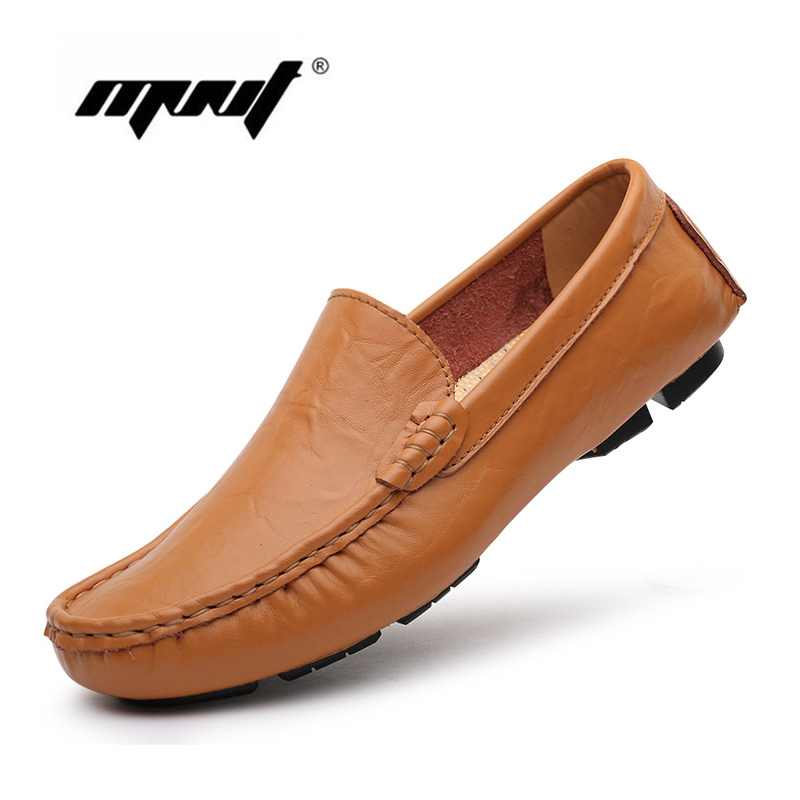 handmade flats shoes soft leather loafers casual