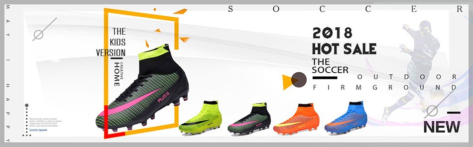 1417dc2bb رخيصة الأولاد الملا الاطفال كرة القدم الأحذية يصعب المحكمة في الهواء ...