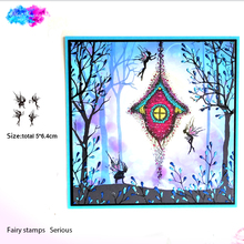 fairy foragers Transparent Clear Silicone Stamp Seal for DIY scrapbooking photo album Decorative clear stamps