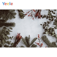 Yeele Christmas Photocall Pine Snow Bells Decor Ins Photography Backdrop Personalized Photographic Backgrounds For Photo Studio 8x8ft thin vinyl photography elk snow pine tree backgrounds christmas backdrop for photo studio cm 6382
