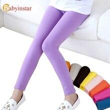 2016 Fashion Autumn Summer Girls Pants Children Kids Trouser Baby Girls Thin Pants Candy Color Girls Costume Kids Girls Clothing