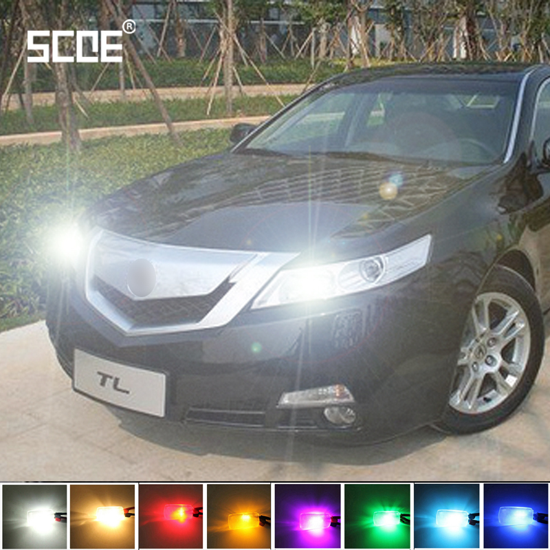 SCOE High Quality 2X 12SMD LED Front Parking Side Marker