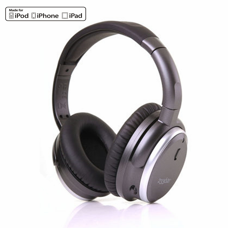 233621 H501 Active Noise Cancelling Headphones Over Ear HiFi Music Acoustic Noise Reduction Headset Detachable Cable With Mic