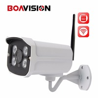 HD 720P WIFI Wireless IP Camera 960P 1080P Outdoor TF Card Slot Surveillance Waterproof P2P View