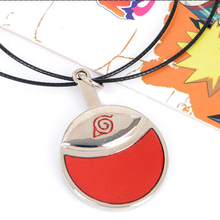 Men Women Naruto Uchiha Itachi akatsuki Sharingan pendant cartoon rope chain necklace