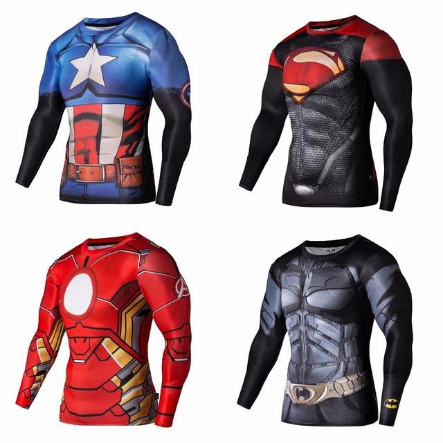 Compression Superhero Shirt For Men