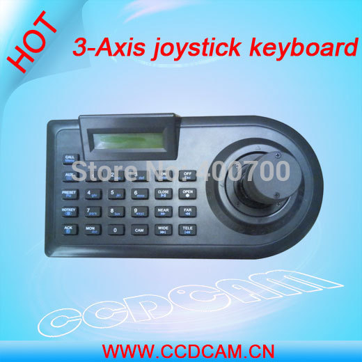CCDCAM CCTV PTZ remote controller Keyboard for Speed Dome Camera 3-Axis joystick keyboard EK-3057
