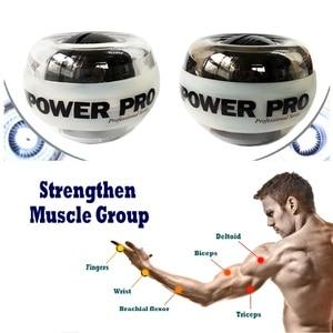 Мяч для запястья гироскоп Porceball наручные тренажер, мощность усилитель силовой шар Gyro Спортивная Wristball ручной Спиннер с светодиодный Скорость