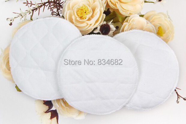 J Ghee 30Pcs Feeding Washable Reusable Breast Nursing Pad Super Soft Breathable Absorbent Breast Feeding Pads Maternity Feeding
