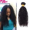 7A Brazilian Curly Virgin Hair 1pcs/lot Unprocessed Brazilian Kinky Curly Virgin Hair Ali Moda Brazilian Deep Curly Human Hair