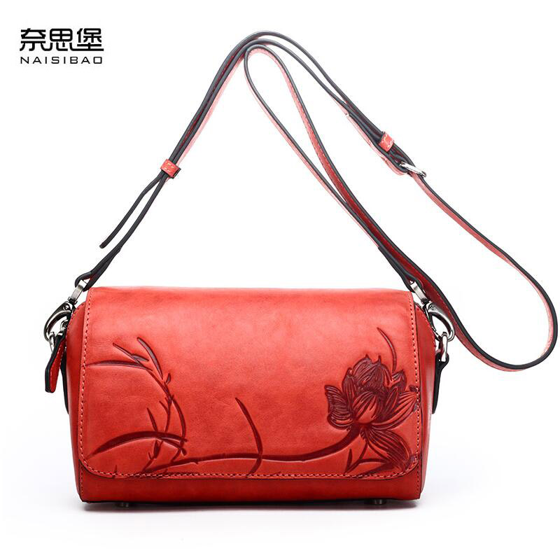 New genuine leather women bag luxury handbags women bags designer fashion women shoulder messenger bag leather cowhide bag цены