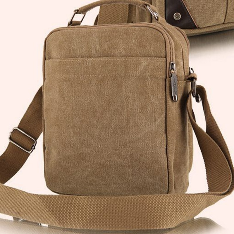 2018 Men S Travel Bags Cool Canvas Bag Fashion Men Messenger Bags