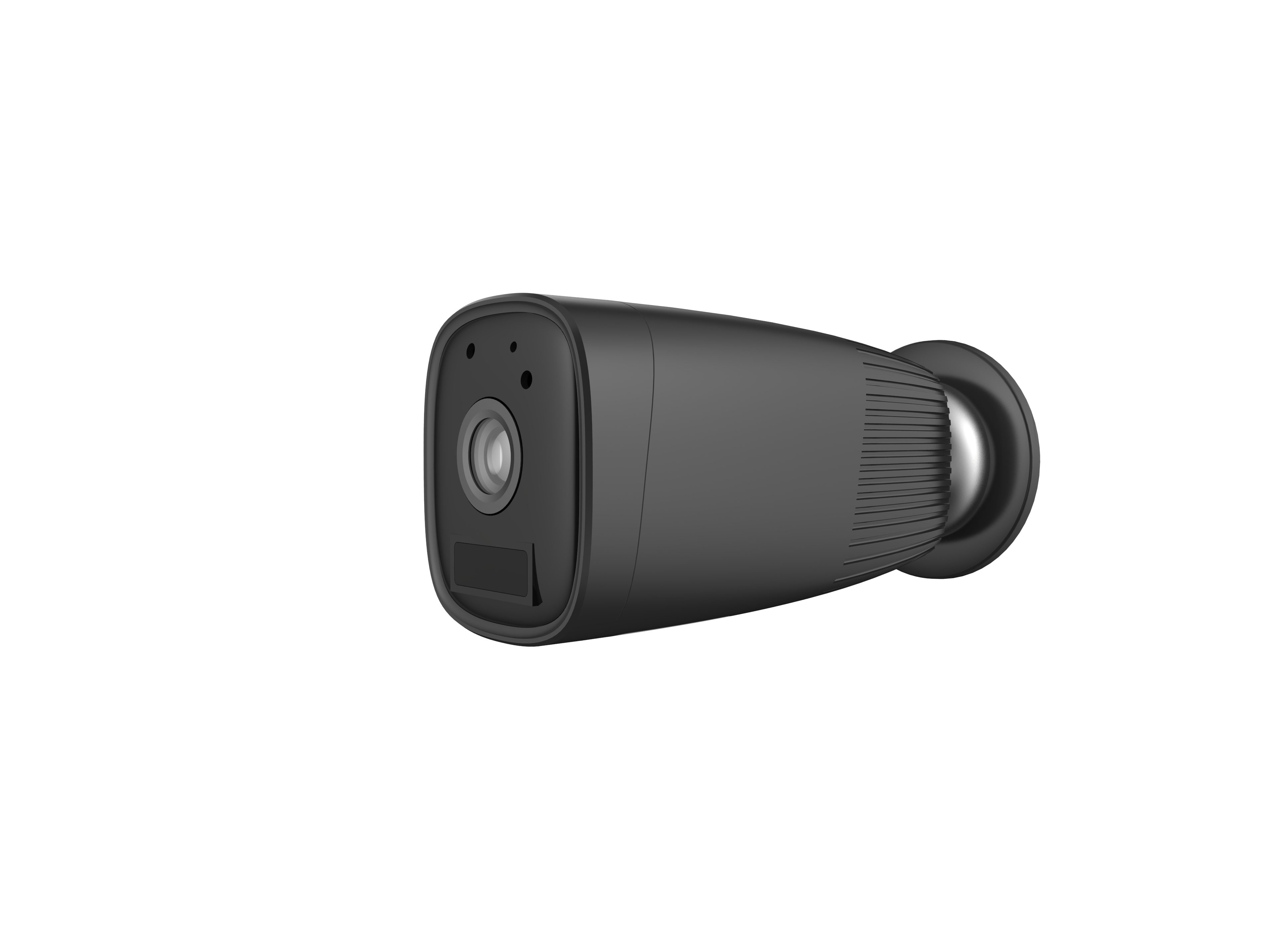 Built in 4pcs original Panasonic 18650 long lasting 2MP Wireless IP bullet cameras P2P wifi Recharge black IP security cameras