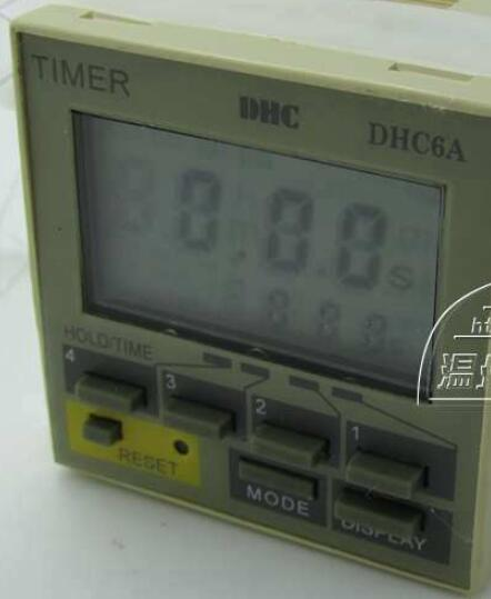 Wenzhou Dahua time relay DHC6A-A3 power failure to maintain the call to continue with LCD backlight with backlight hhs6a correct time countdown intelligence number show time relay bring power failure memory ac220v