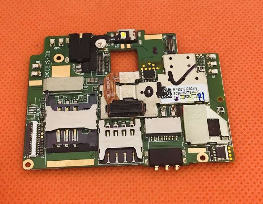 Используется original материнских плат 2 г Оперативная память + 16 г Встроенная память платы для KingZone Z1 4 г LTE mtk6752 Восьмиядерный 1.7 ГГц 5.5 HD Бесплат...