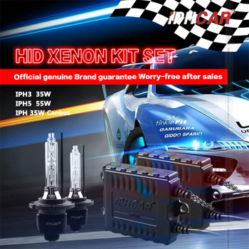 Free Shipping IPHCAR Hid Headlights Xenon Slim Conversion Kit H1 H3 H7 H8 H9 H11 880 881 9004 9005 9006 9007 5500k