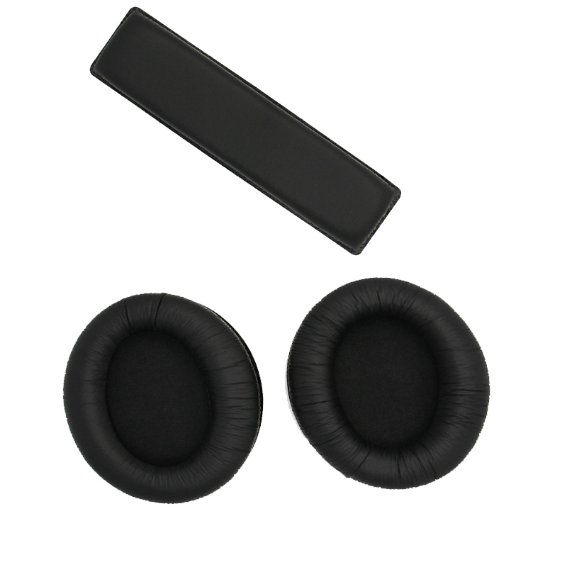 2pcs Replacement Ear Headphones Headband Cushion Pads for Sennheiser Logitech