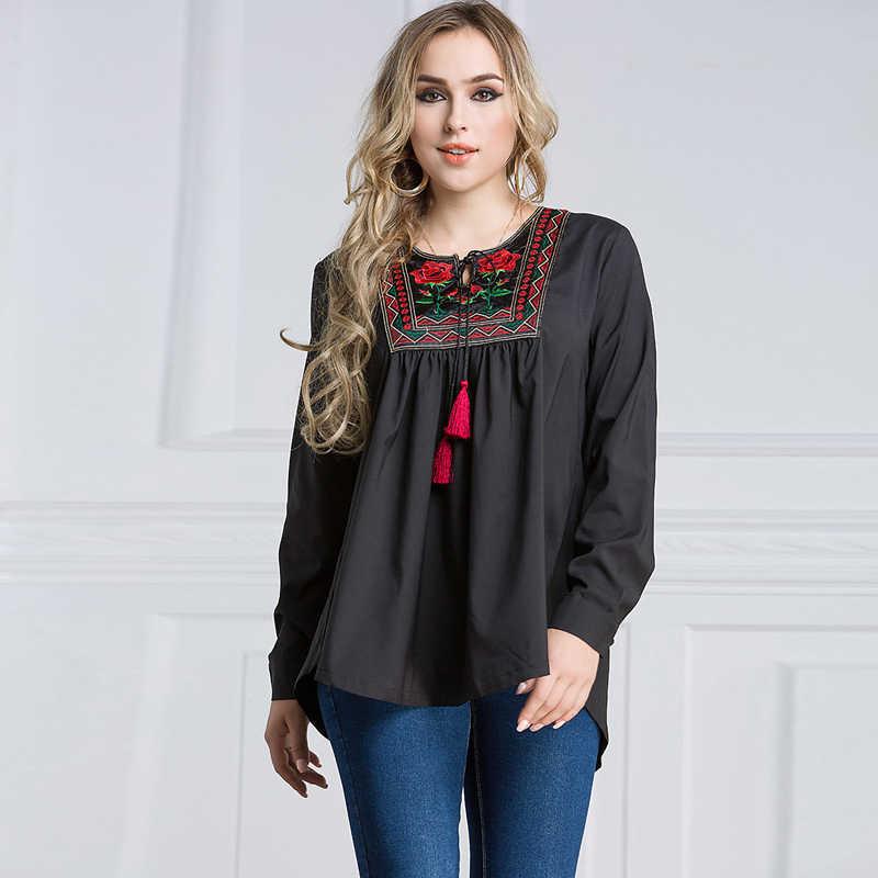6bf85fba6e54d Plus Size 6XL 7XL 2019 UAE Islam Arabic Abaya Dubai Turkey Muslim Long  Sleeve Top Women Ropa Musulman Mujer Saudi Arab Clothing