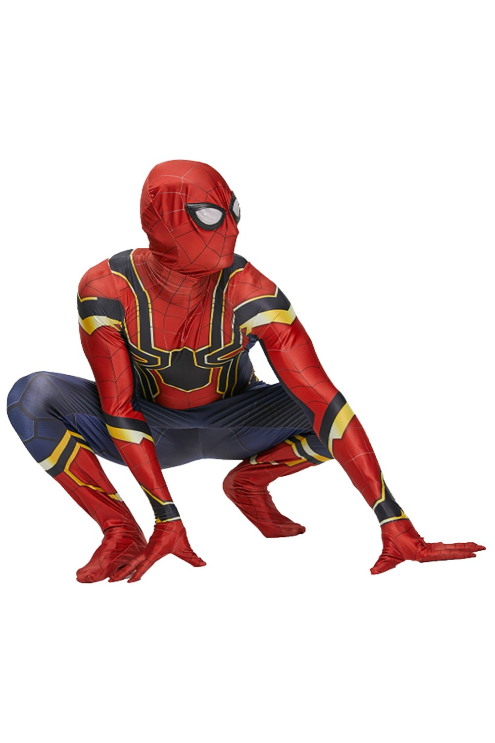 2018 Spiderman Costume Spiderman Homecoming Cosplay Costume Tom Holland Iron Spider Man Suit