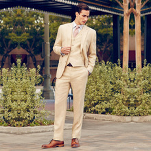 Новое поступление, облегающие мужские костюмы под заказ из 3 предметов, деловые формальные костюмы для торжественных случаев, смокинги для жениха, лучшие мужские(пиджак+ штаны+ жилет