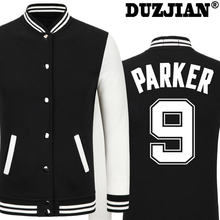 DUZJIAN Spring new Spur Tony Parker casual jacket cheap men winter jackets male coat boys jacket hip hop mens tweed jacket